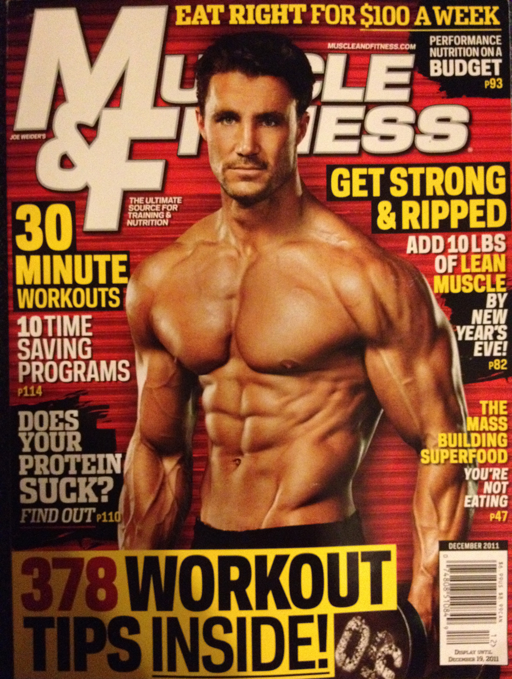 Muscle and Fitness Bodybuilding Magazine Andreas Cahling 11-80