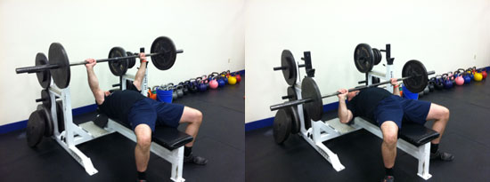 Conventional Bench Press