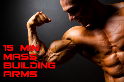 Muscle mass increase arms
