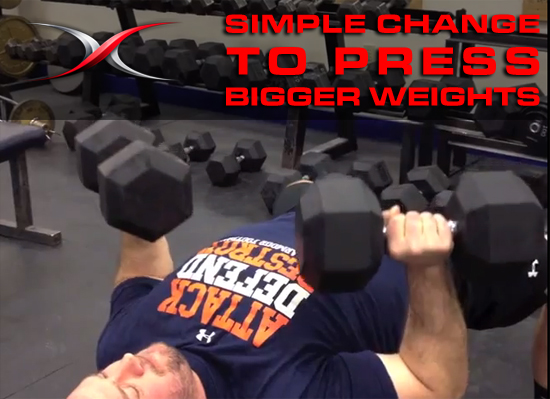 Small Change to Bench Press More Weight - Save Your Shoulders ...