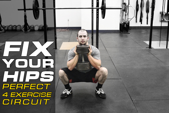 Fix Your Hips - Perfect 4 Exercise Circuit