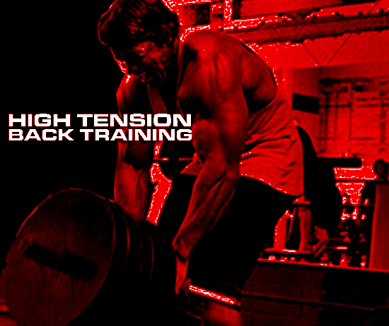 High Tension Back Workouts to Build More Muscle