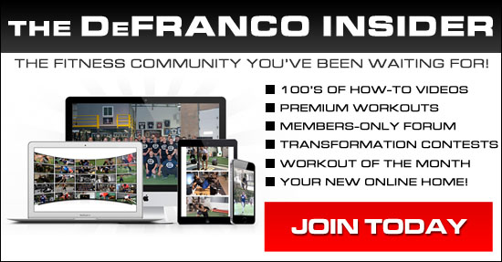 DeFranco Insider Fitness Community